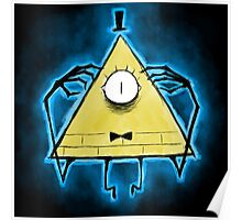 Bill Cipher Another creepy thing from ............. Poster