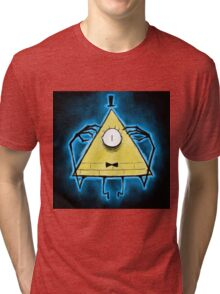 Bill Cipher Another creepy thing from ............. Tri-blend T-Shirt