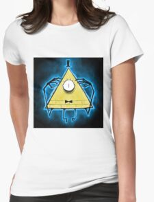 Bill Cipher Another creepy thing from ............. Womens Fitted T-Shirt