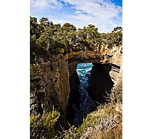 Tasman Arch and Blowhole Photographic Print
