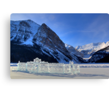 Castles in the Snow Canvas Print