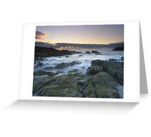 """Sea of Solitude"" ∞ Mimosa Rocks, NSW - Australia Greeting Card"