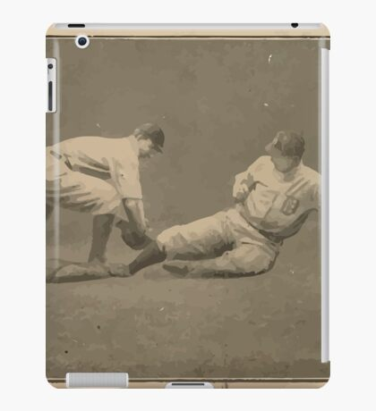 Benjamin K Edwards Collection Neal Ball Geo T Stovall Cleveland Naps St Louis Browns baseball card portrait iPad Case/Skin