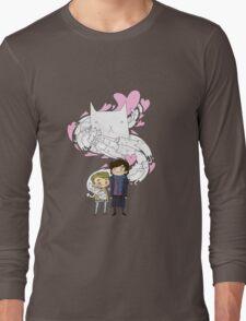 Sherlock and John: Cat jumper Long Sleeve T-Shirt