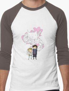 Sherlock and John: Cat jumper Men's Baseball ¾ T-Shirt