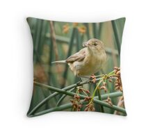 Bug Breakfast Throw Pillow