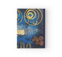 SciFi Mixed Media Art - Landscape Format Hardcover Journal