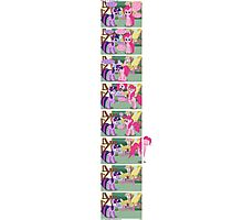 Pinkie Pie vs the Fourth Wall Photographic Print