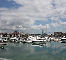 Quiet Marina Reflections by KayleighPalmer0