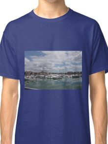 Quiet Marina Reflections Classic T-Shirt