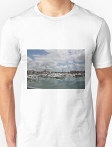 Quiet Marina Reflections Unisex T-Shirt