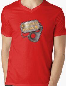 Battlefield Veteran Mens V-Neck T-Shirt