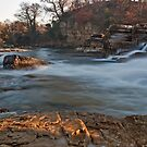 River Swale at Richmond by mountainsandsky