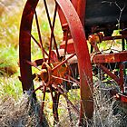 Rusty Wheel by tracielouise
