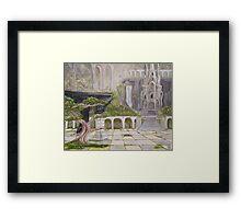 Elven Realm Framed Print