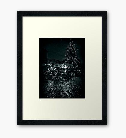 Covent Garden Christmas Framed Print