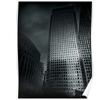 One Canada Square Poster