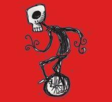 cyclops on a unicycle Kids Tee