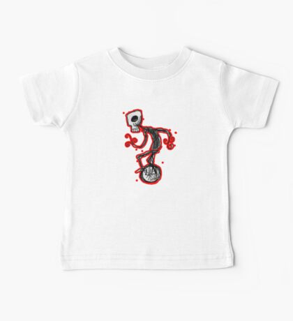 cyclops on a unicycle Baby Tee