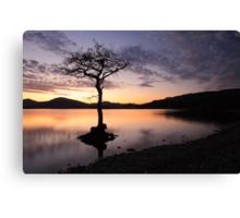 Loch Lomond Sunset Canvas Print