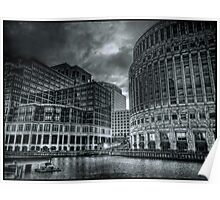 Canary Wharf Complex Poster
