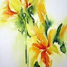 Daffodil-3 by Bev  Wells