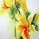 Daffodil-3 by Bev  Wells