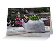 Tin Pot Greeting Card