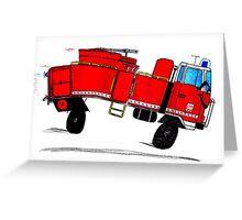 Go Tanker Go! Mk II Greeting Card