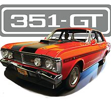 Ford Falcon 351-GT by blulime
