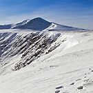 Snowy Blencathra by mountainsandsky