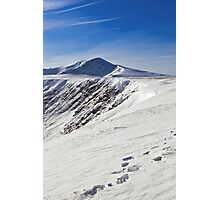 Snowy Blencathra Photographic Print
