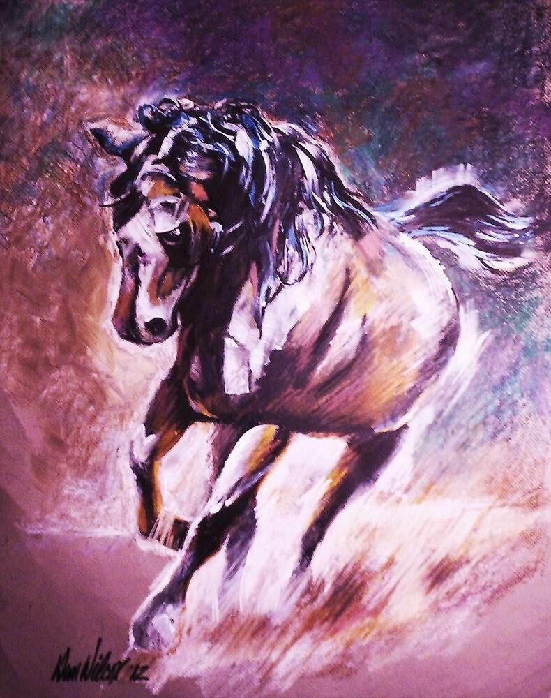 Wild Stallion by Dan Wilcox