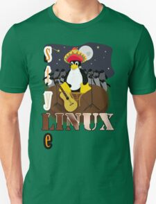 Funny night TUX (linux) T-Shirt