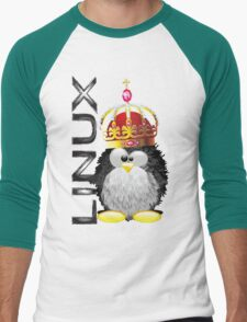 Linux - King Men's Baseball ¾ T-Shirt