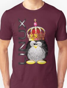 Linux - King Unisex T-Shirt
