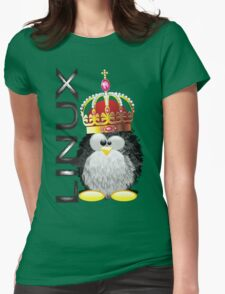 Linux - King Womens Fitted T-Shirt