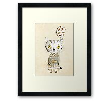 Birthday Cat Framed Print