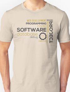 Programmer: typography programming T-Shirt