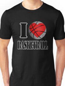 I love Basketball T-shirt Unisex T-Shirt