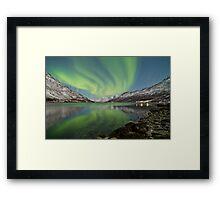 Aurora Reflection Framed Print