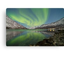 Aurora Reflection Canvas Print