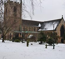 ST MARY MAGDELENE, HUCKNALL, NOTTINGHAM by The-Stranger