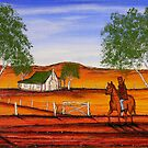 """Ned Kelly's Sunburnt Country"" Australia; For Sale  by EJCairns"