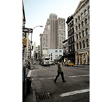 Soho life Photographic Print