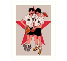 Ping Pong the animation Art Print