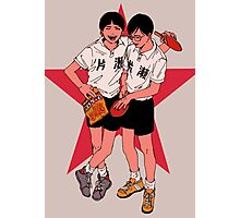 Ping Pong the animation Photographic Print