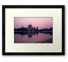 The Victoria Memorial Framed Print