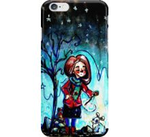 little witch iPhone Case/Skin