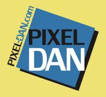 Pixel Dan Logo Kids Clothes
